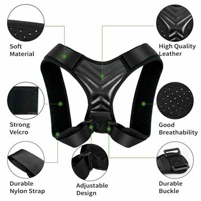 posture corrective therapy back brace details
