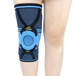 Nylon Knee Brace With Silicon