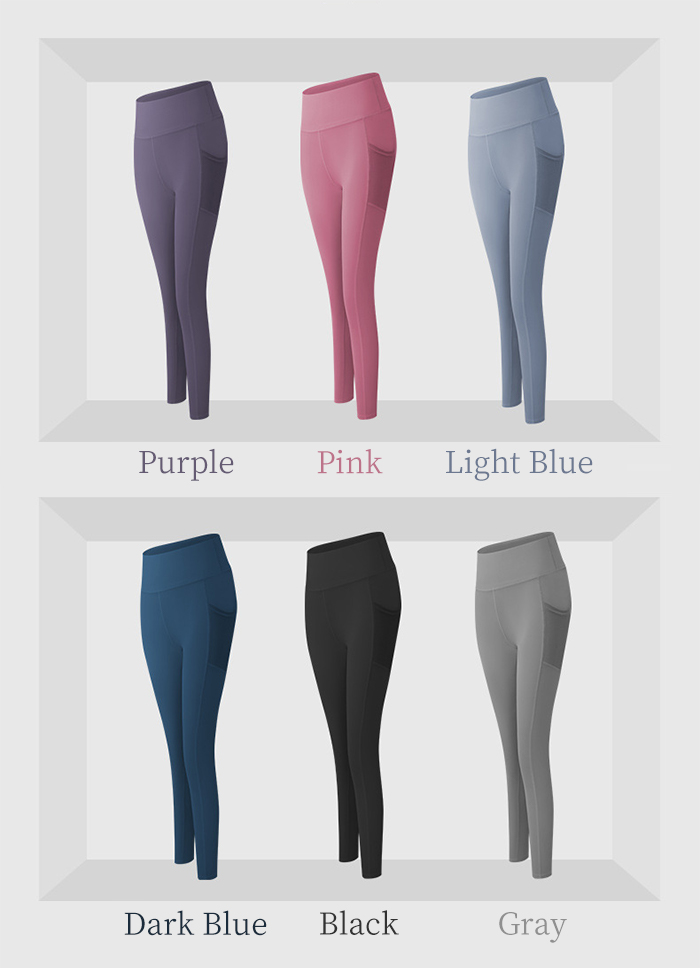 High Waisted Leggings with Pockets