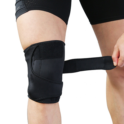 Adjustable Athletics Knee Brace With Pressure Straps