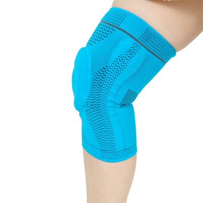 Knee Pads Wrap Silicone And Spring Support