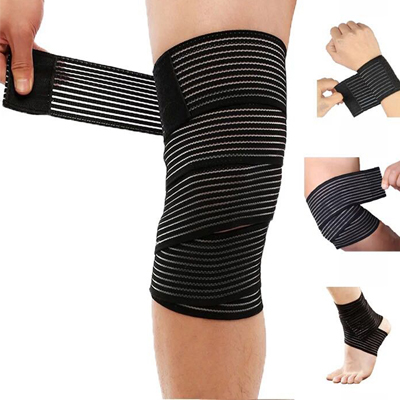 Adjustable hamstring compression sleeve support