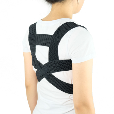 adjustable posture corrector shoulder back support belt