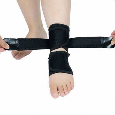 ankle support for running sleeve strap