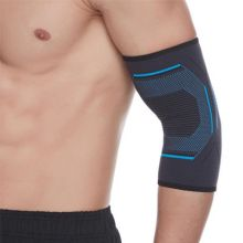 Knitted Elbow Sleeve Silica Gel Non-Slip Elbow Pads