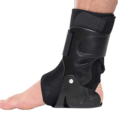 Ankle Support Brace Foot Guard Sprains Injury Wrap Elastic Splint Strap Sports