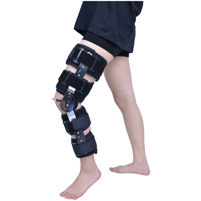 Medical Hinged ROM Orthopedic Fractures Support Knee Brace