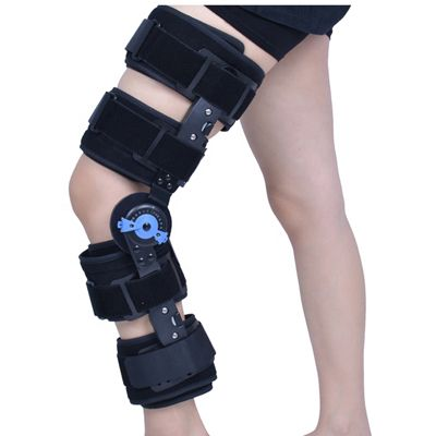 Medical Hinged ROM Rehabilitation Fractures Support Knee Brace