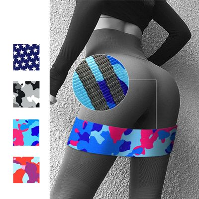 Fabric Resistance Loop Bands for Women
