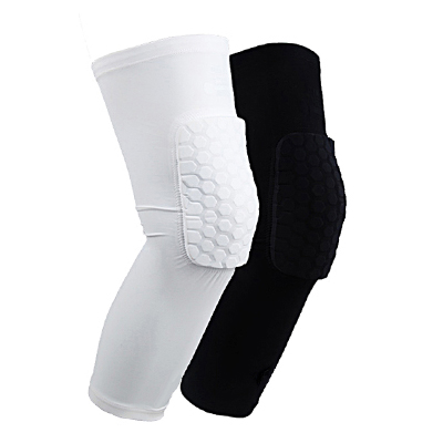 Honeycomb knee pads basketball