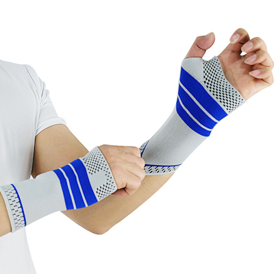 knitting wrist support