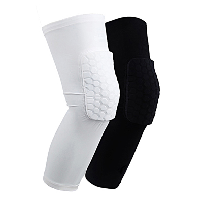 knee compression sleeve with brace