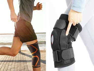 The Differences between Open Patella and Closed Patella Knee Support