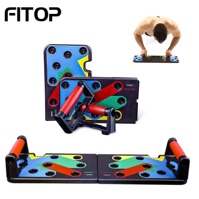 Color Coded Push Up Board