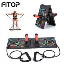 Push Up Stand With Resistance Band