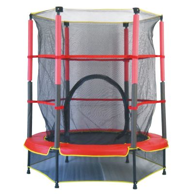 Kids Trampoline with Safety Enclosure Net